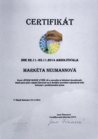 certifikaty-a-odbornosti-marketa-neumannovalecitelka-terapeutkamasazebiorezonancedetoxikacefrekvencni-terapie-benatky-nad-jizerou-srt-leceni-svym-vyssim-ja