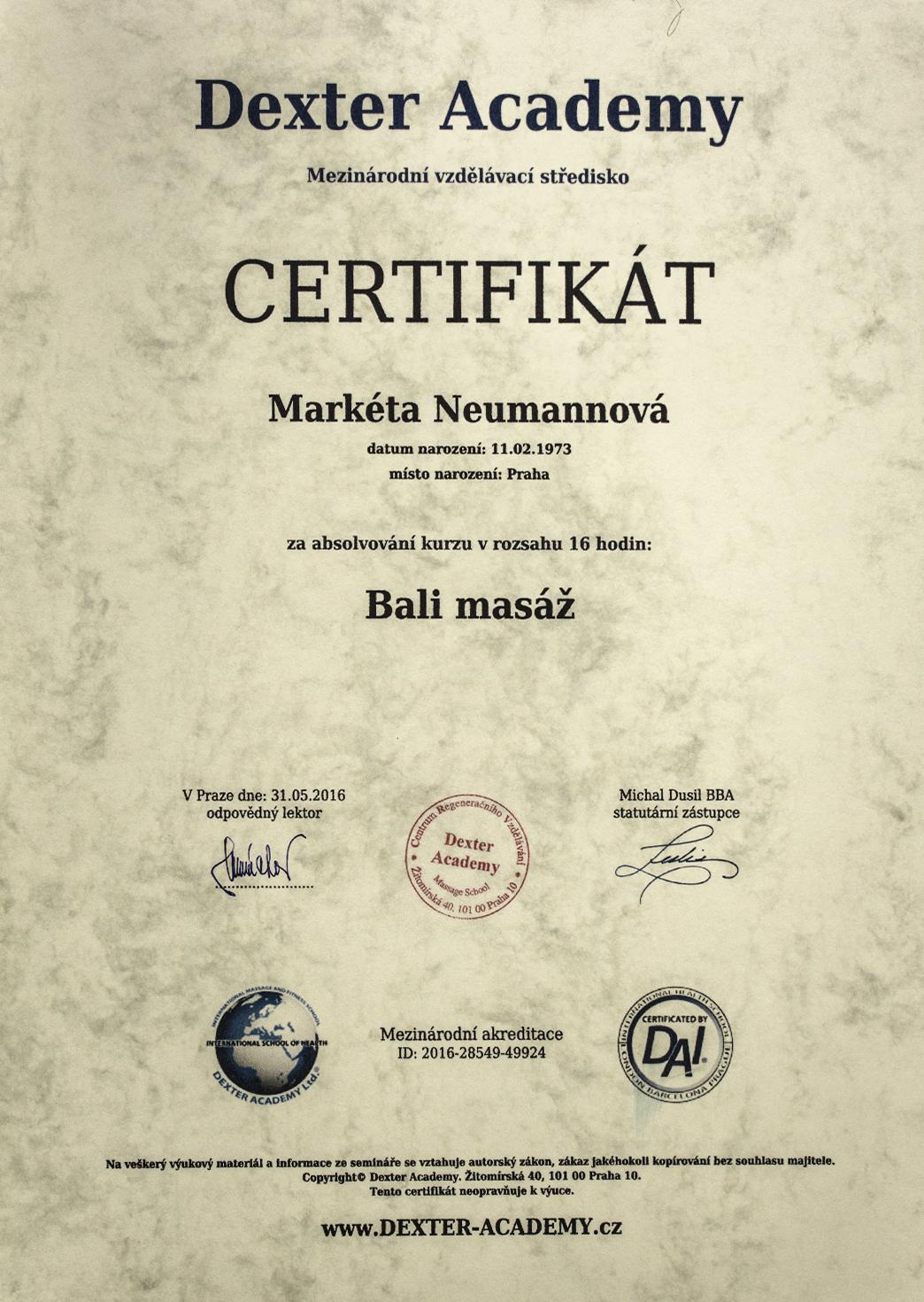 certifikaty-a-odbornosti-marketa-neumannovalecitelka-terapeutkamasazebiorezonancedetoxikacefrekvencni-terapie-benatky-nad-jizeroubali-masaz