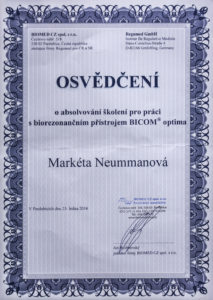 certifikaty-a-odbornosti-marketa-neumannovalecitelka-terapeutkamasazebiorezonancedetoxikacefrekvencni-terapie-benatky-nad-jizeroubicom-optima